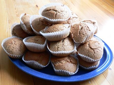 Muffin mit ayurvedischen Gewürzen